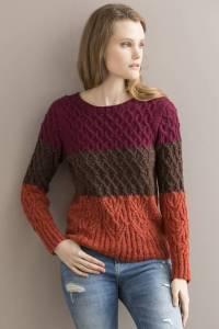 Joie de Vivre pullover Tahki Yarns Life.Style Fall/Winter 2015