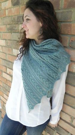 VEXILLUM shawl